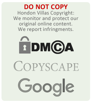 Do not use any of Hondon Villas intellectual property, media or original copyright material.