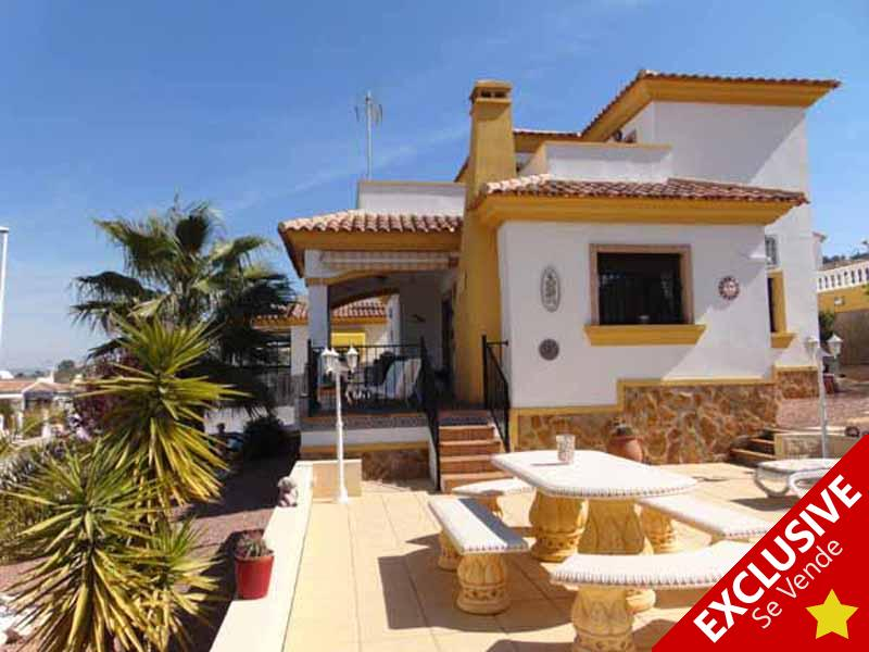 Hondon de las Nieves Property EXCLUSIVE to Hondon Villas SL2248